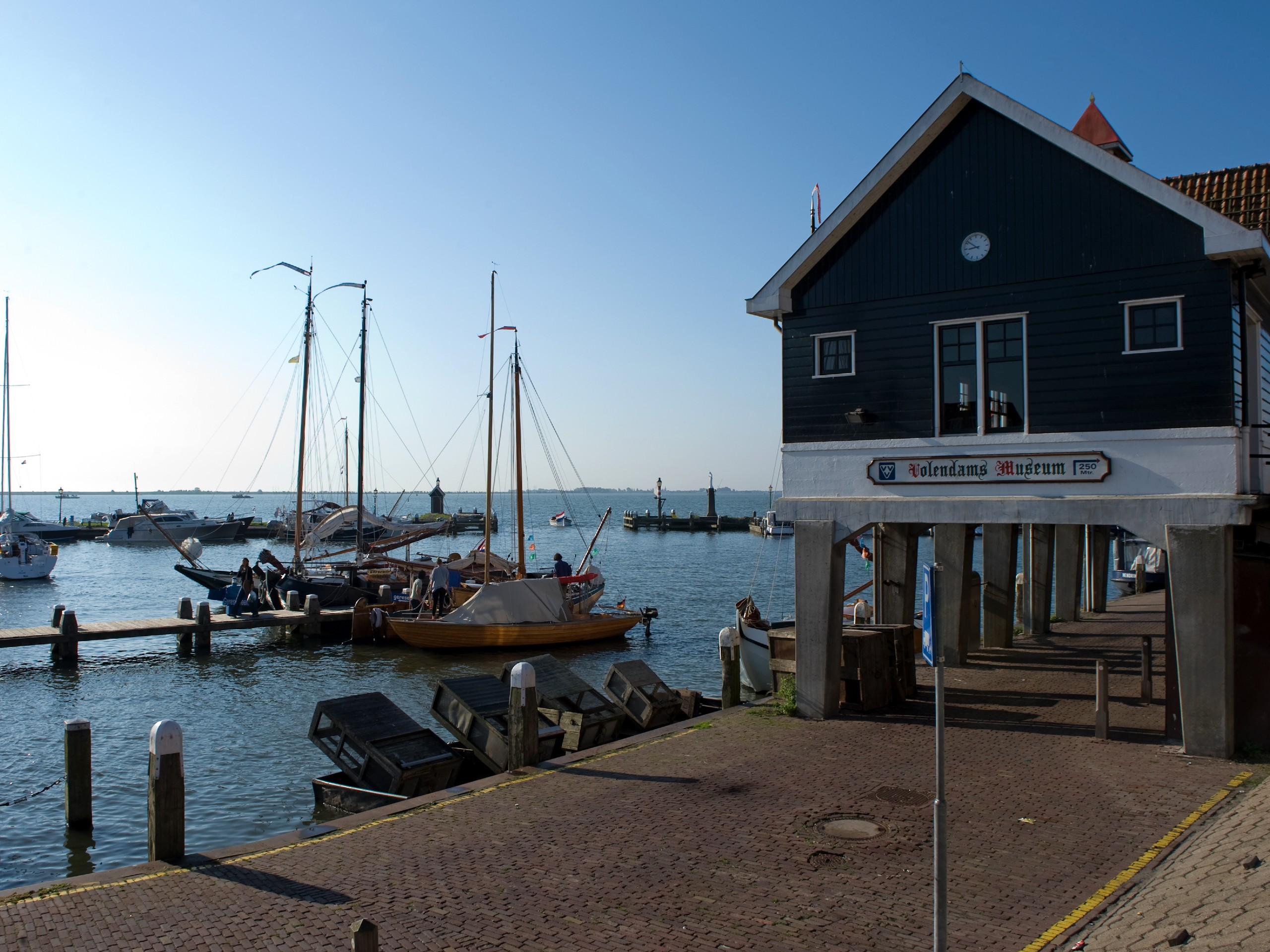 Volendam museum, visited on a self-guided biking tour in Holland