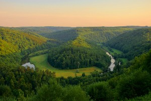 Meuse Route and Vennbahn Rail Trail Cycling Tour