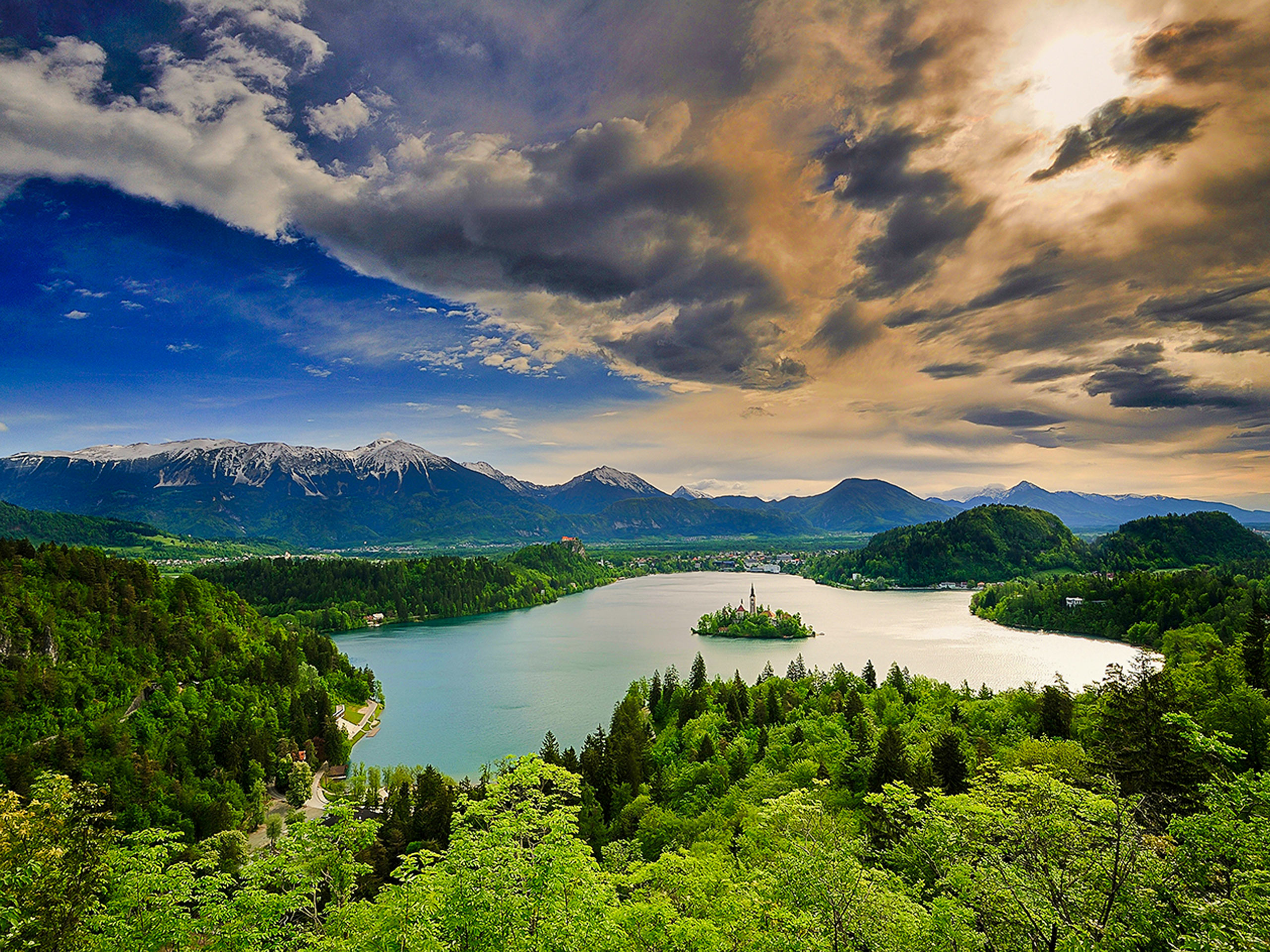 Slovenia panoramic view