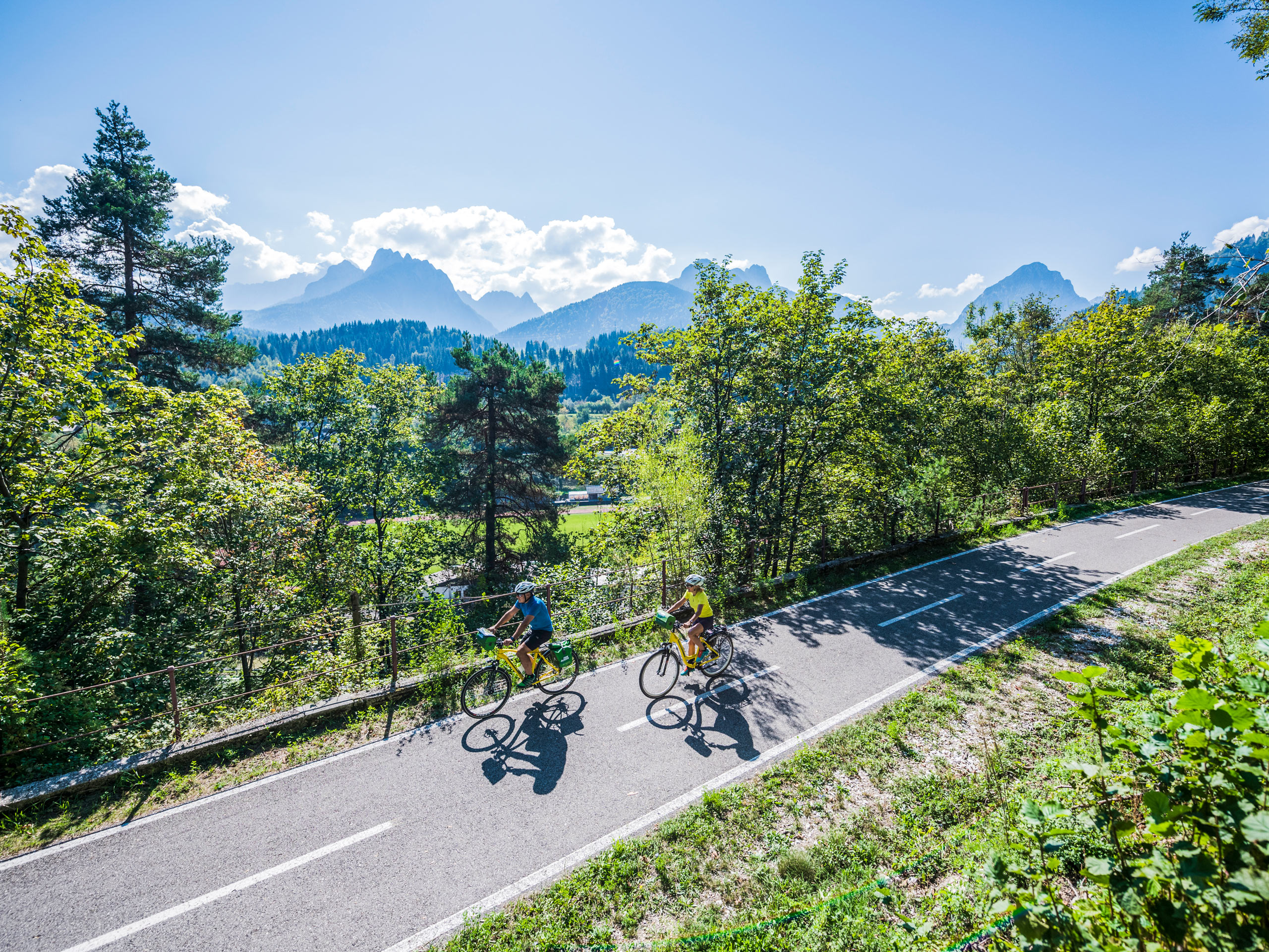 Amazing bike ride in Italy
