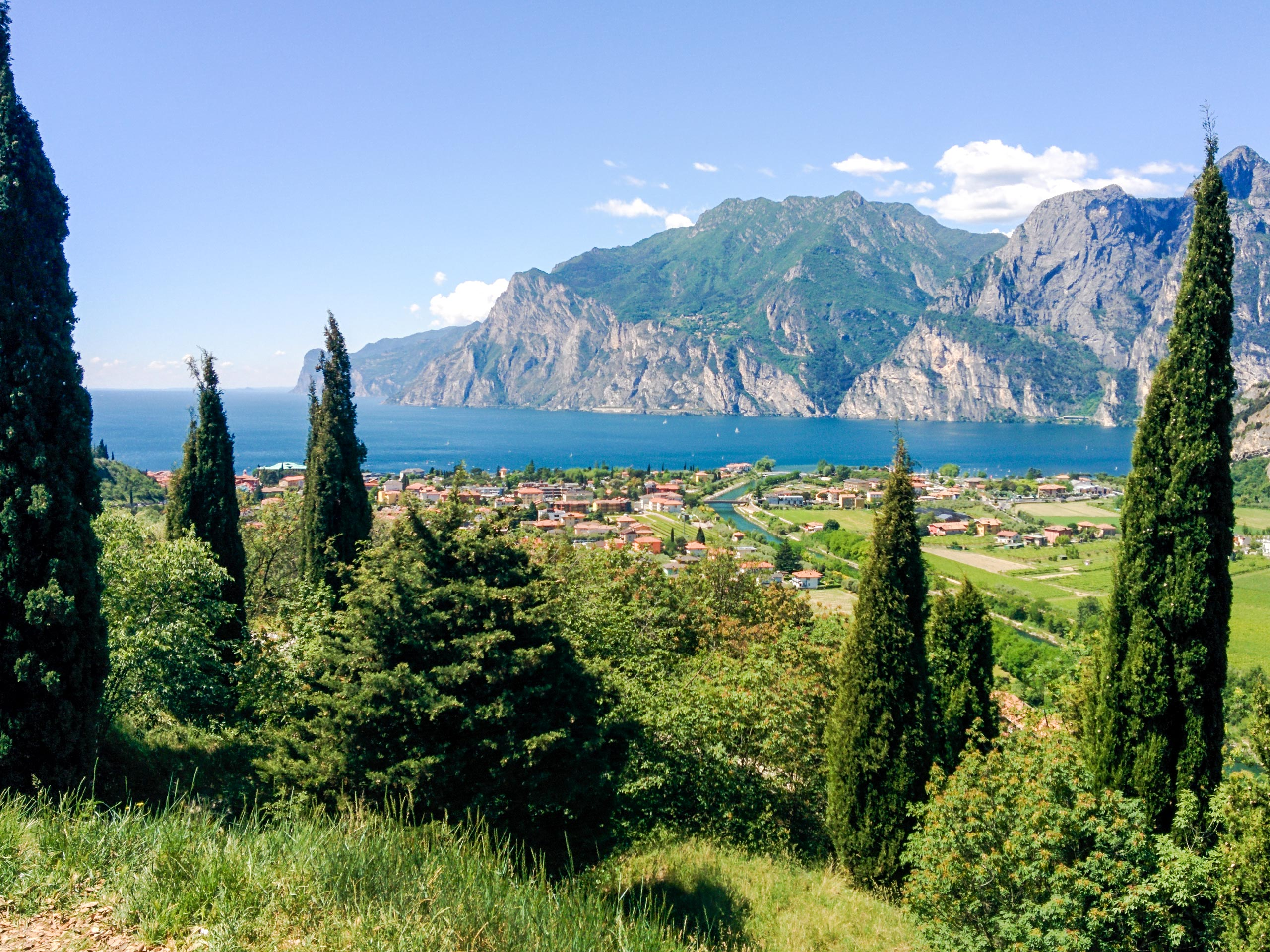 Beautiful Torbole panoramic view