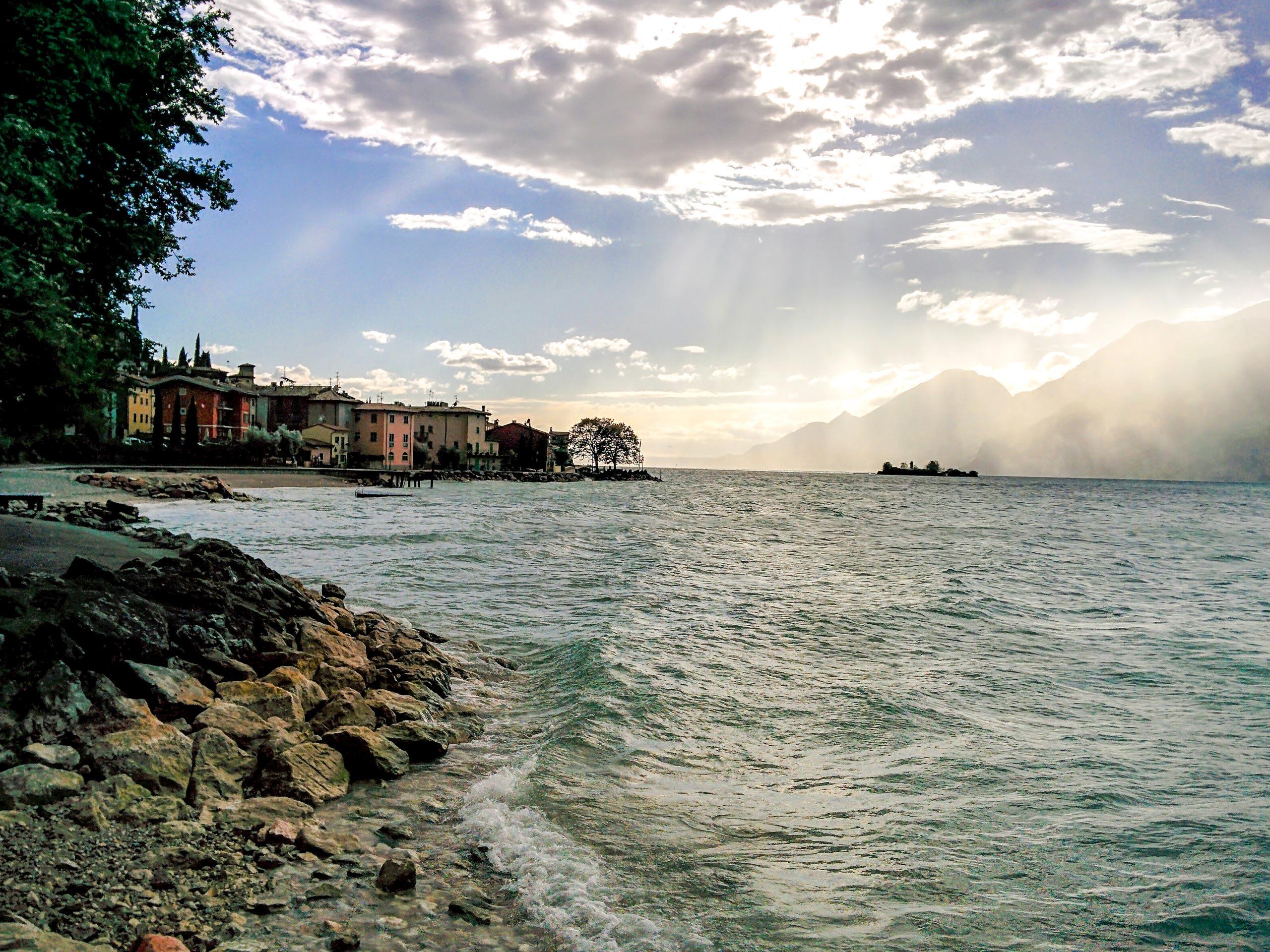 Beautiful sea coast view