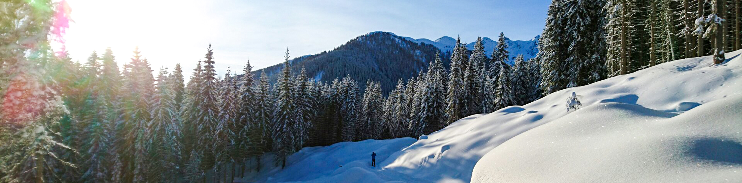 Winter Hiking in the Dolomites