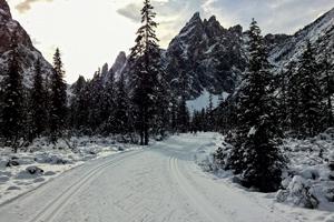 XC Ski the Dolomites