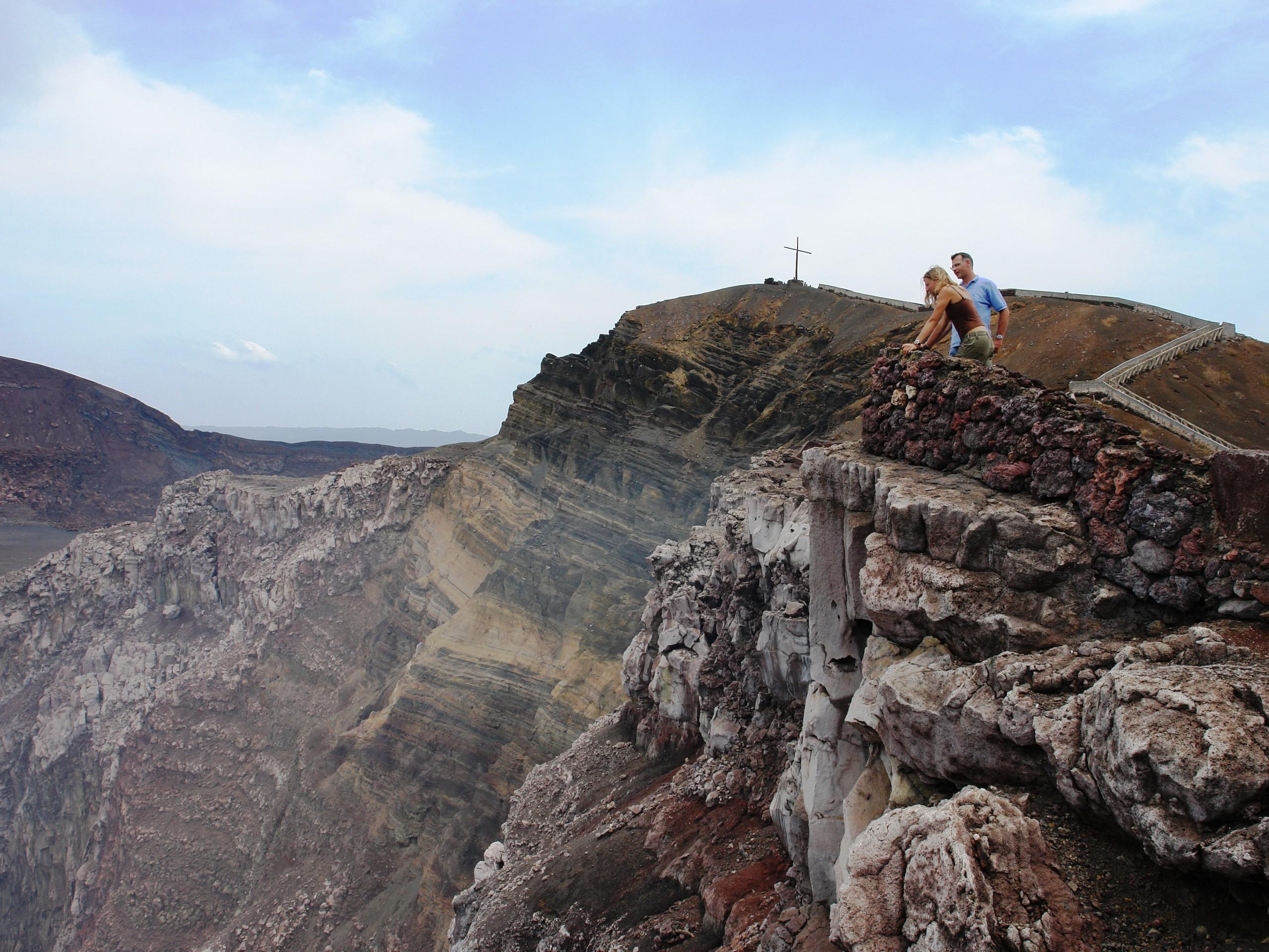 Visiting Volcan Masaya