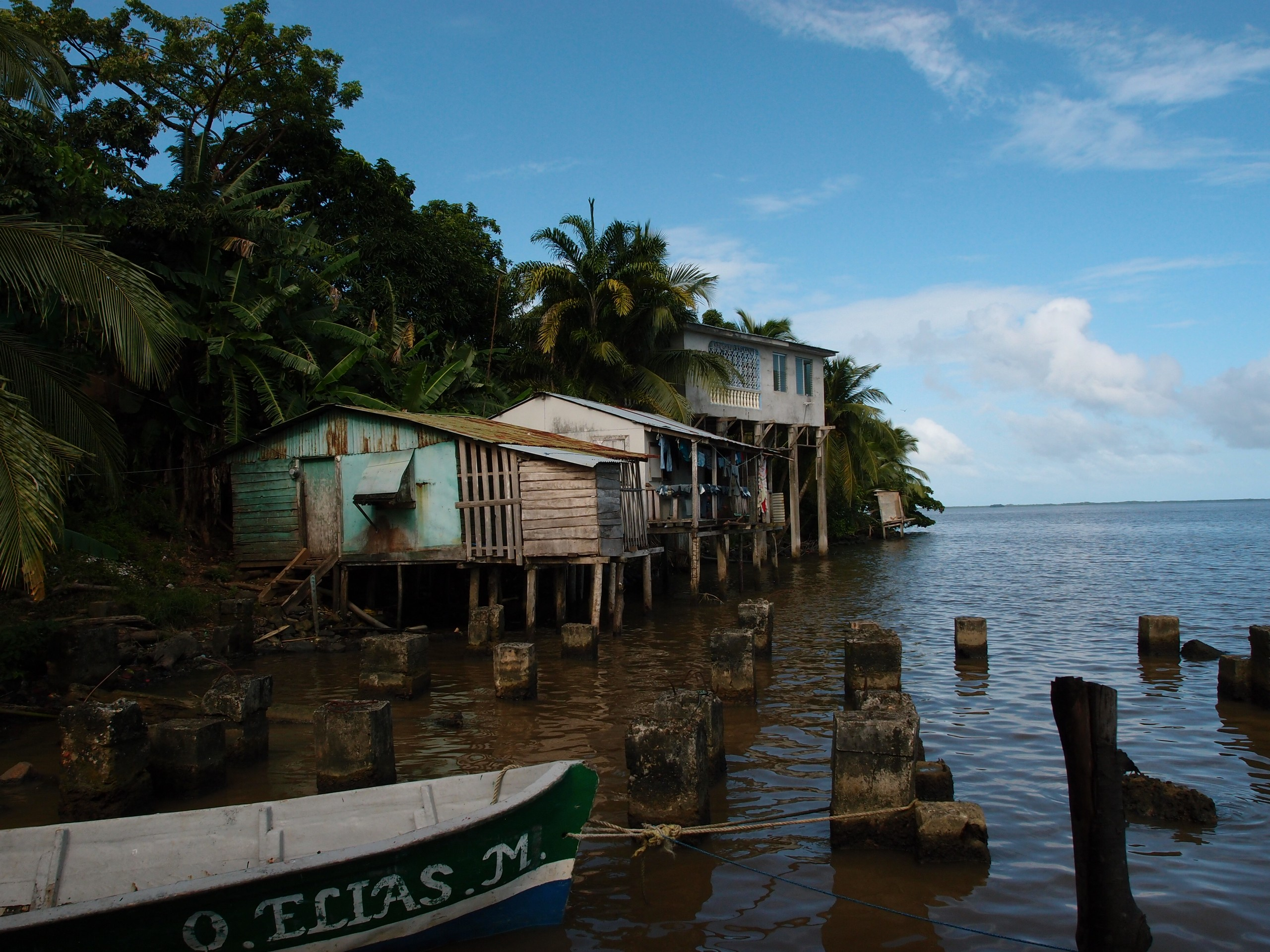 Bluefields Houses in Nicaragua
