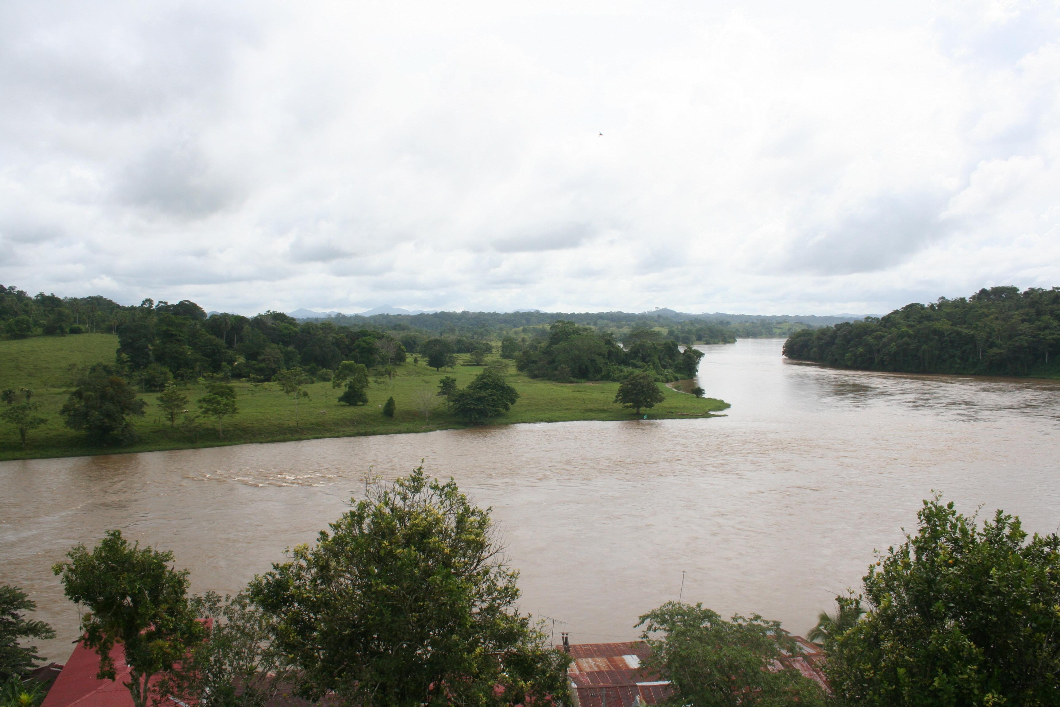 River in El Castillo