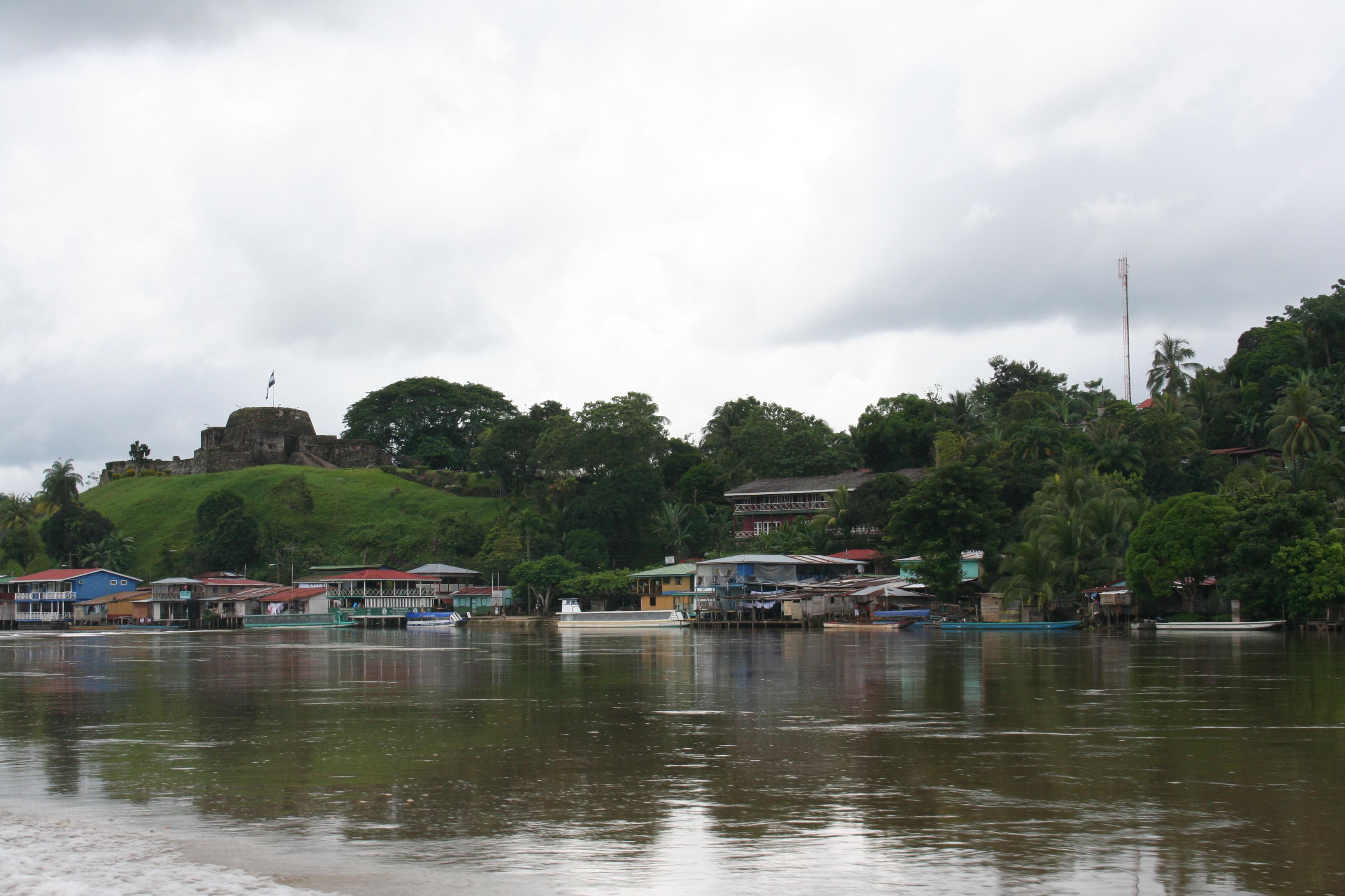 River in El Castillo, Nicaragua