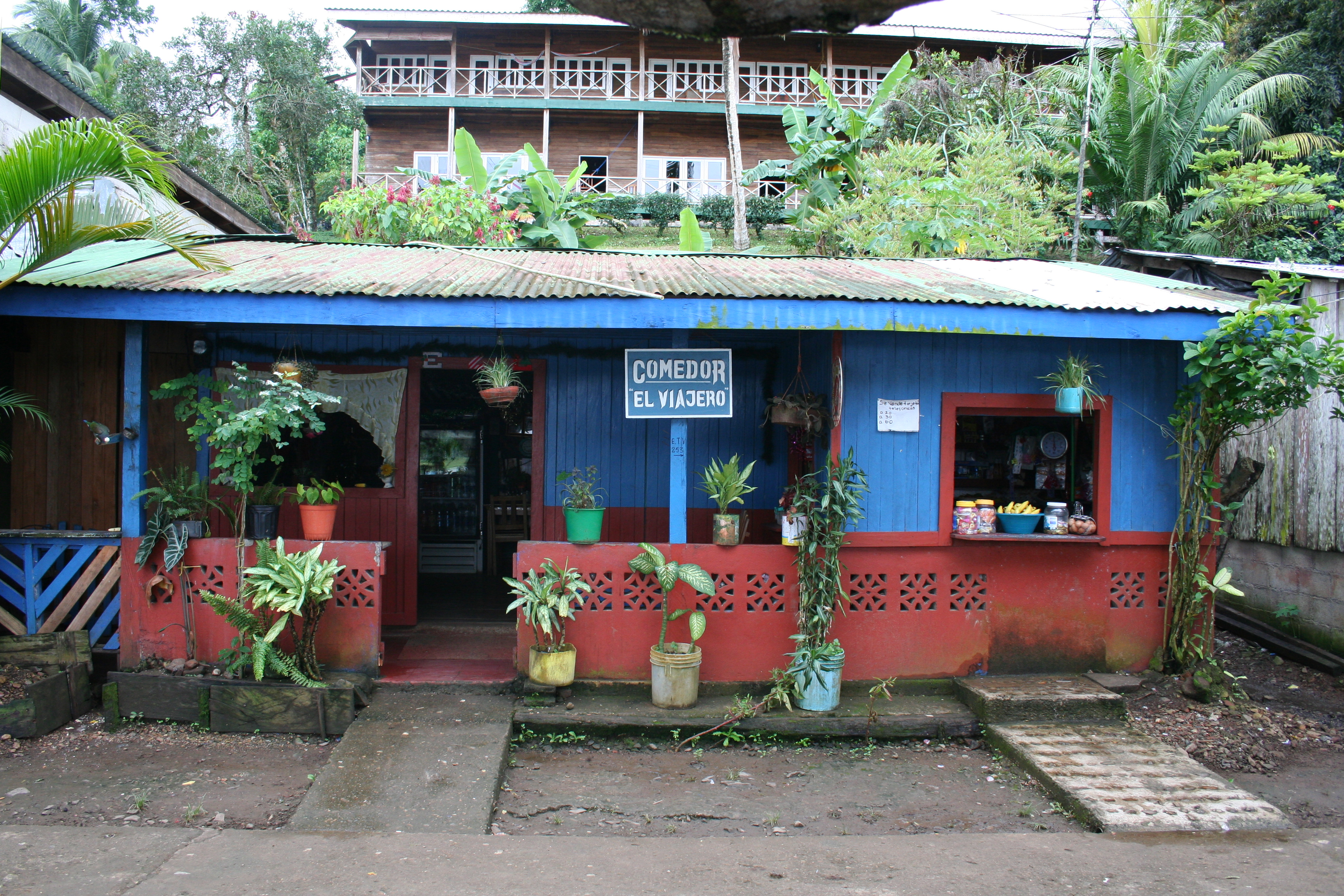 Colorful building in Nicaragua
