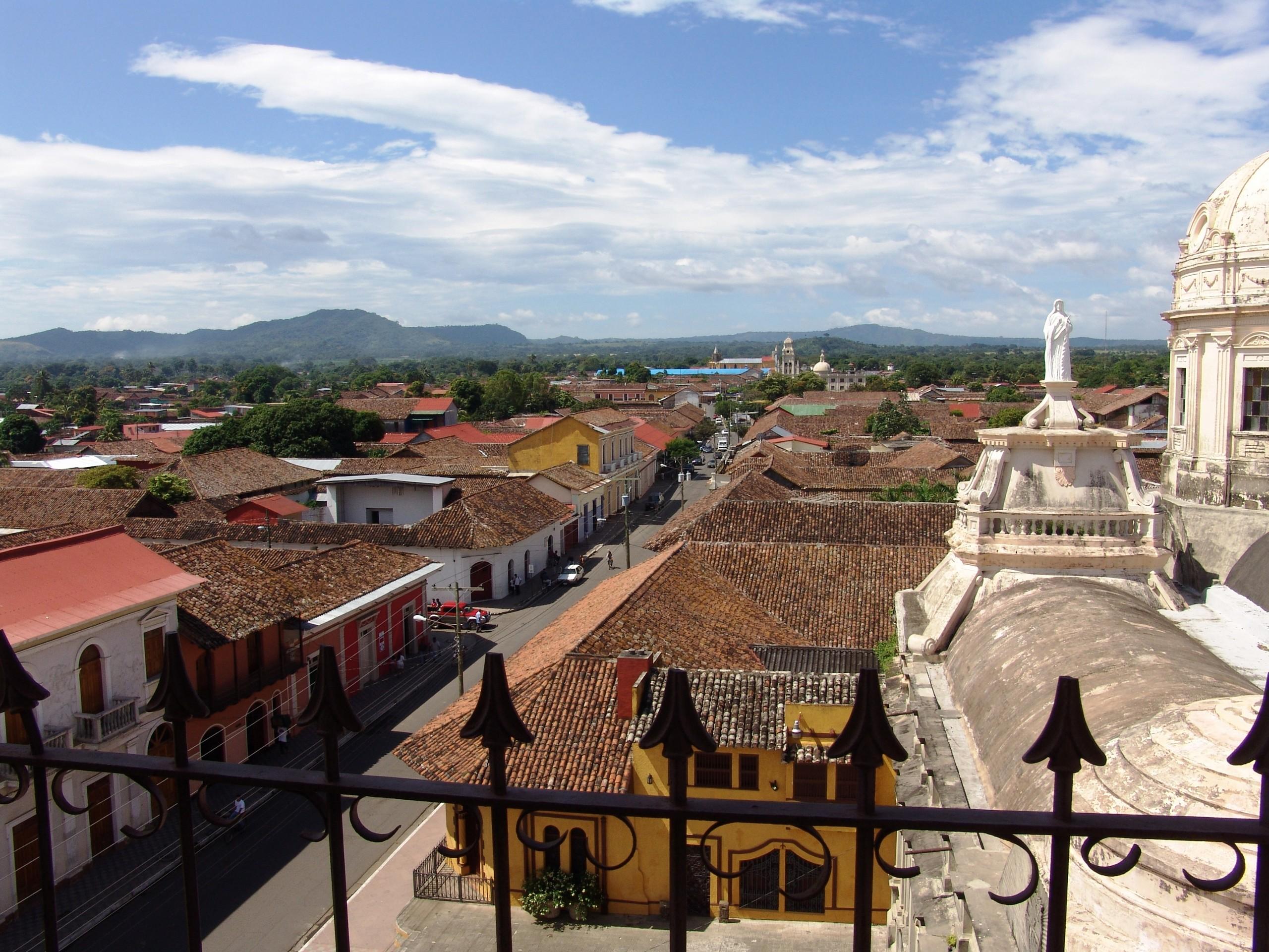 Granada City in Nicaragua