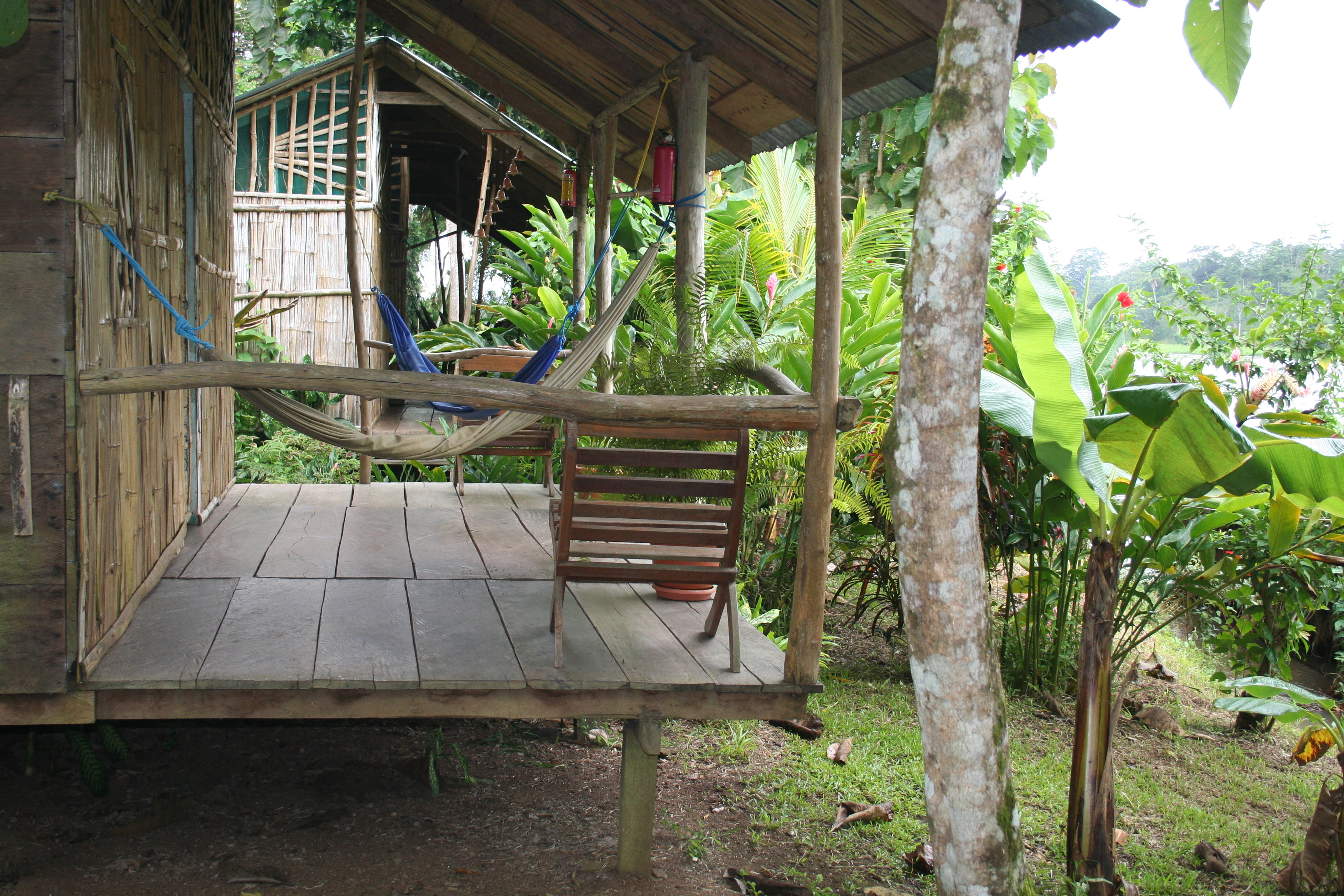 Lodge in Nicaragua, near River San Juan