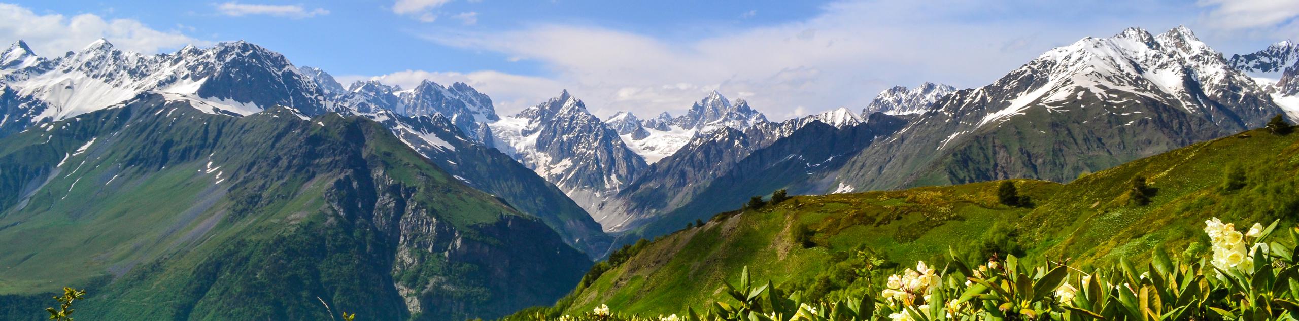 Trekking the Caucasus Range to the Black Sea