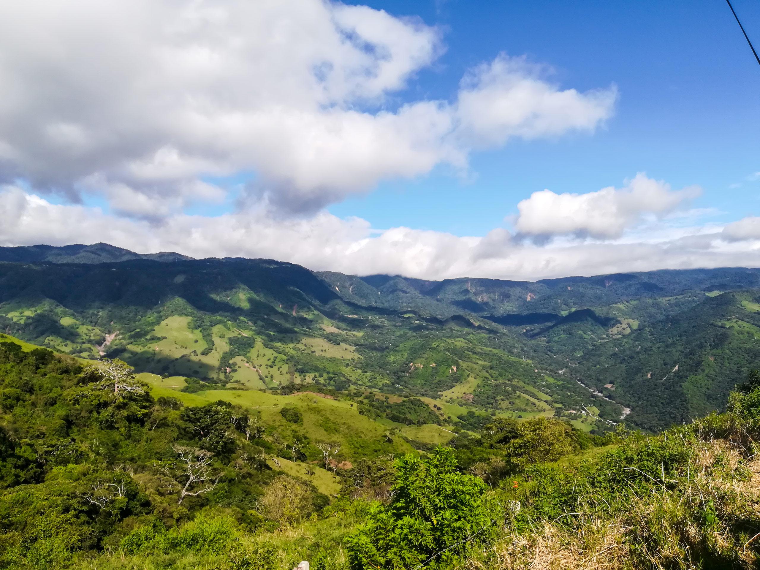 Monteverde panoramic view