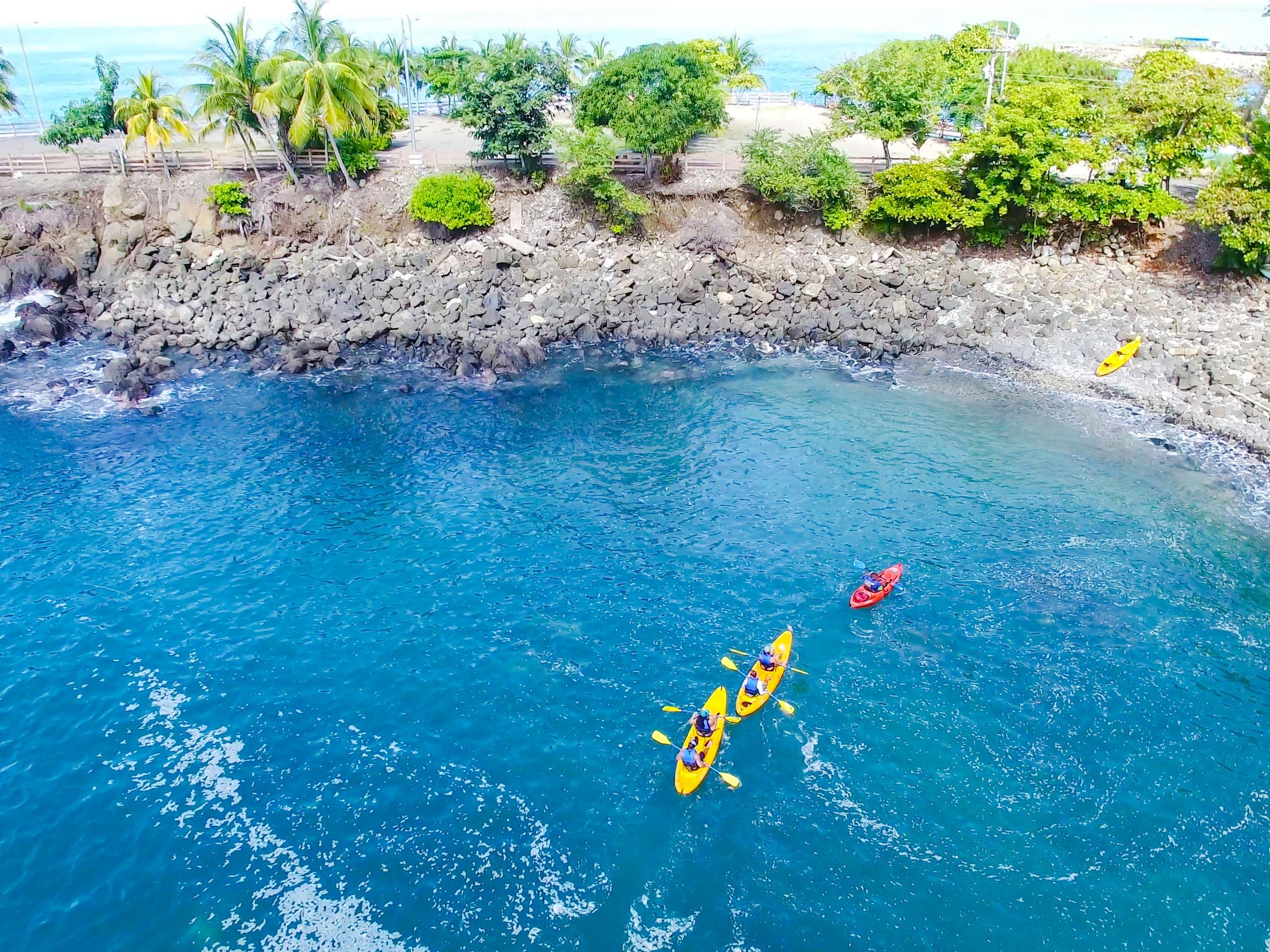 Ocean kayakind extreme tour