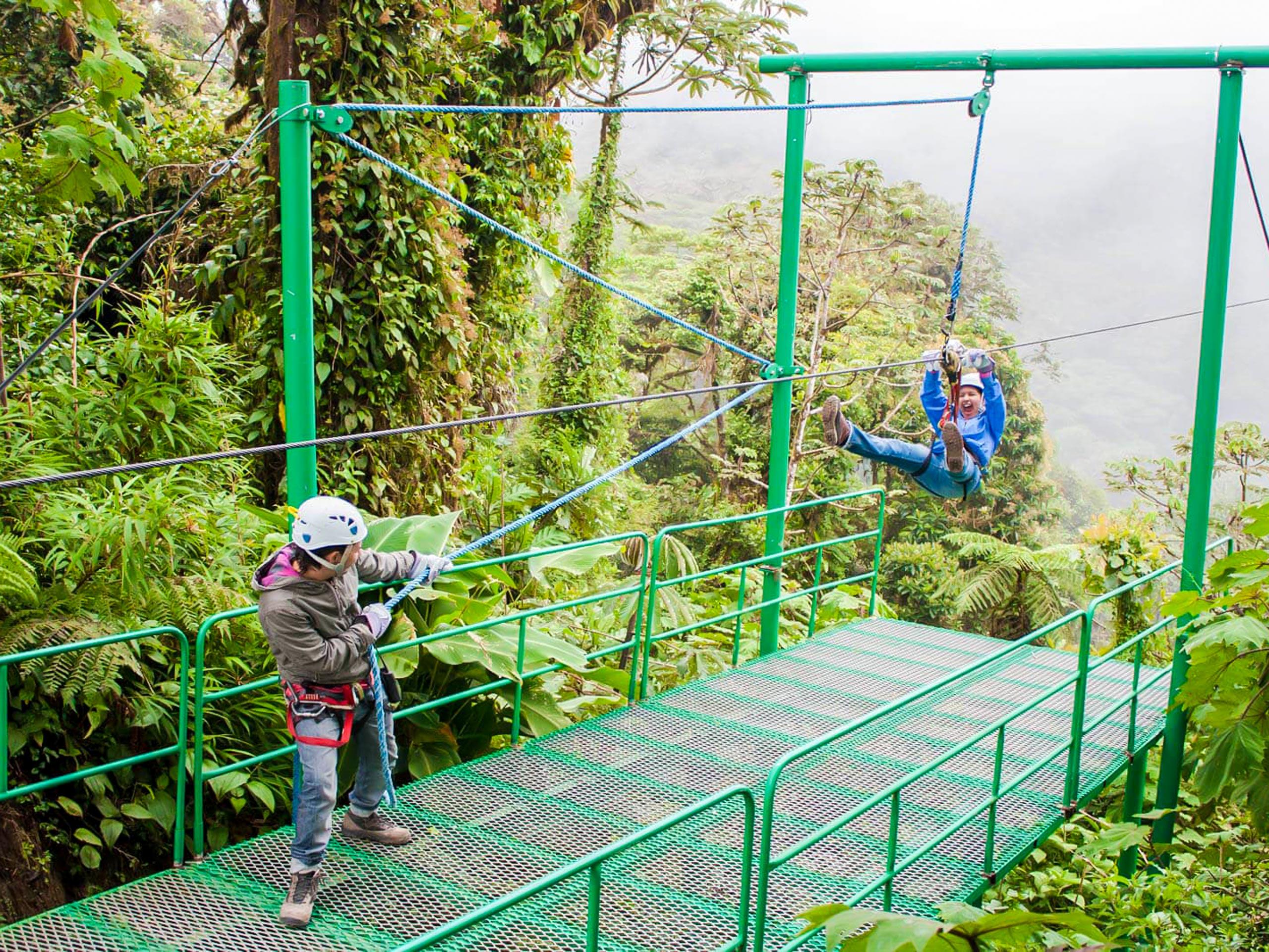 Sky Trek in Monteverde