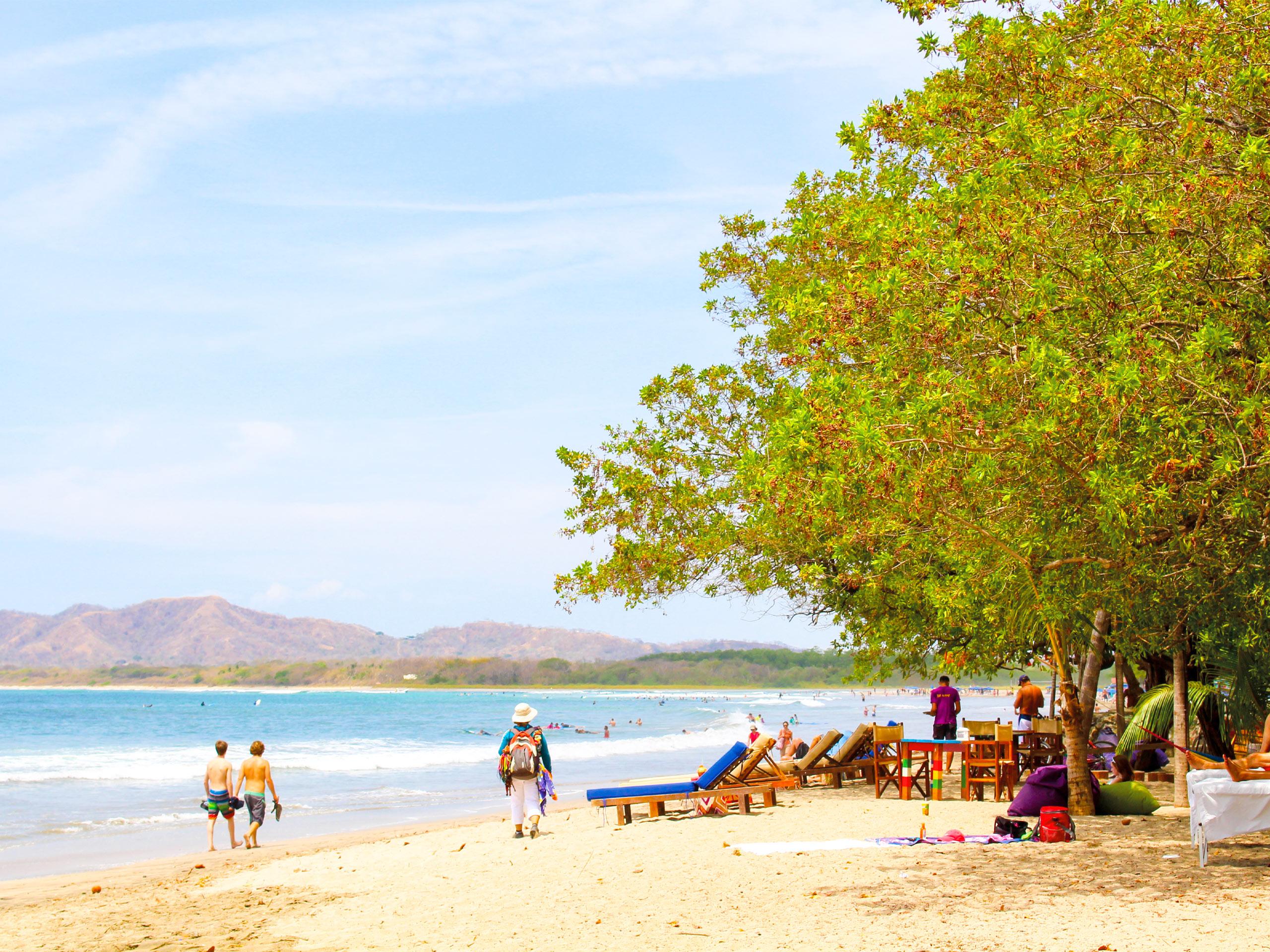 Tamarindo beach view