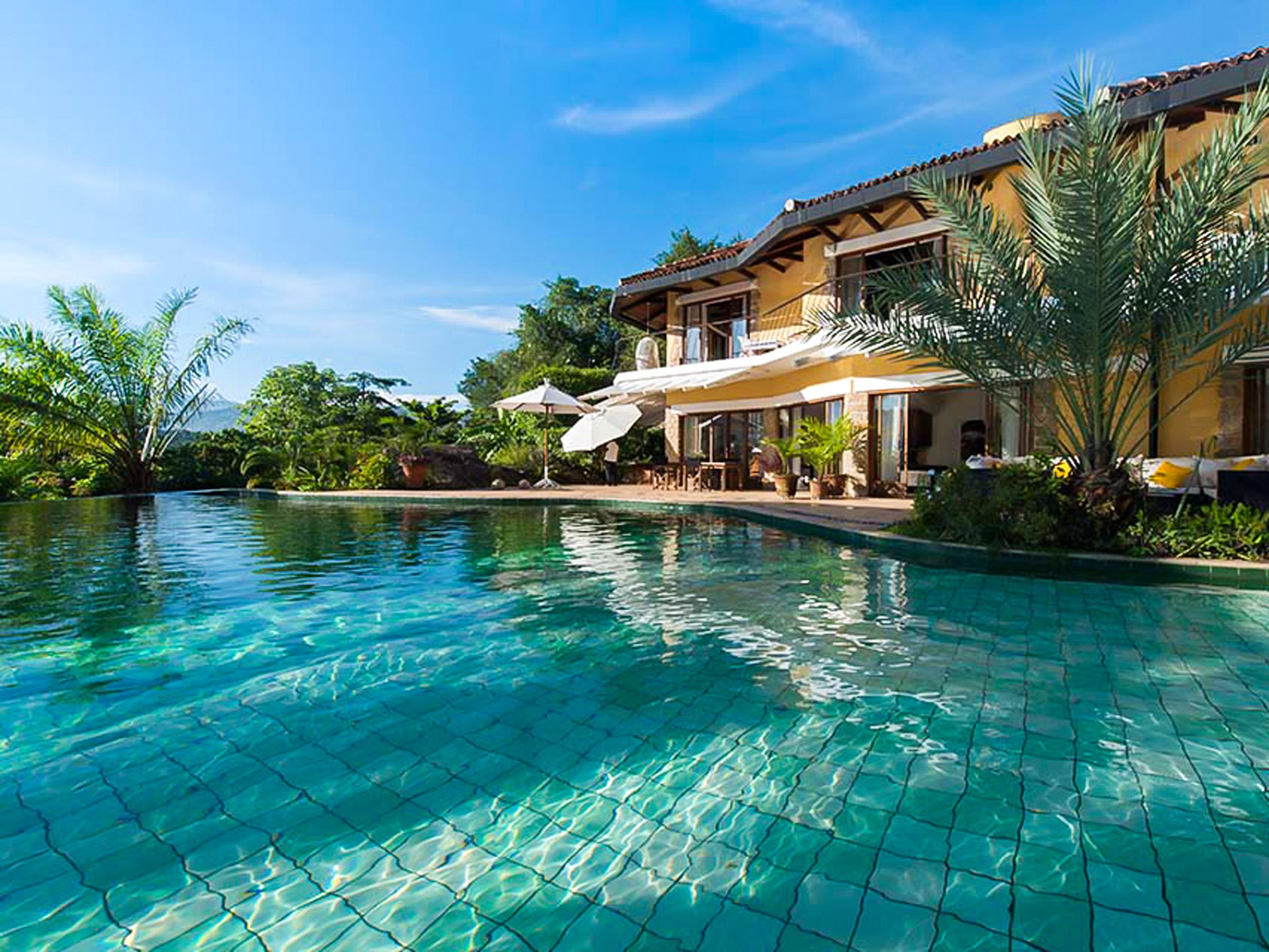 Beautiful pool in Bougainvillea Hotel