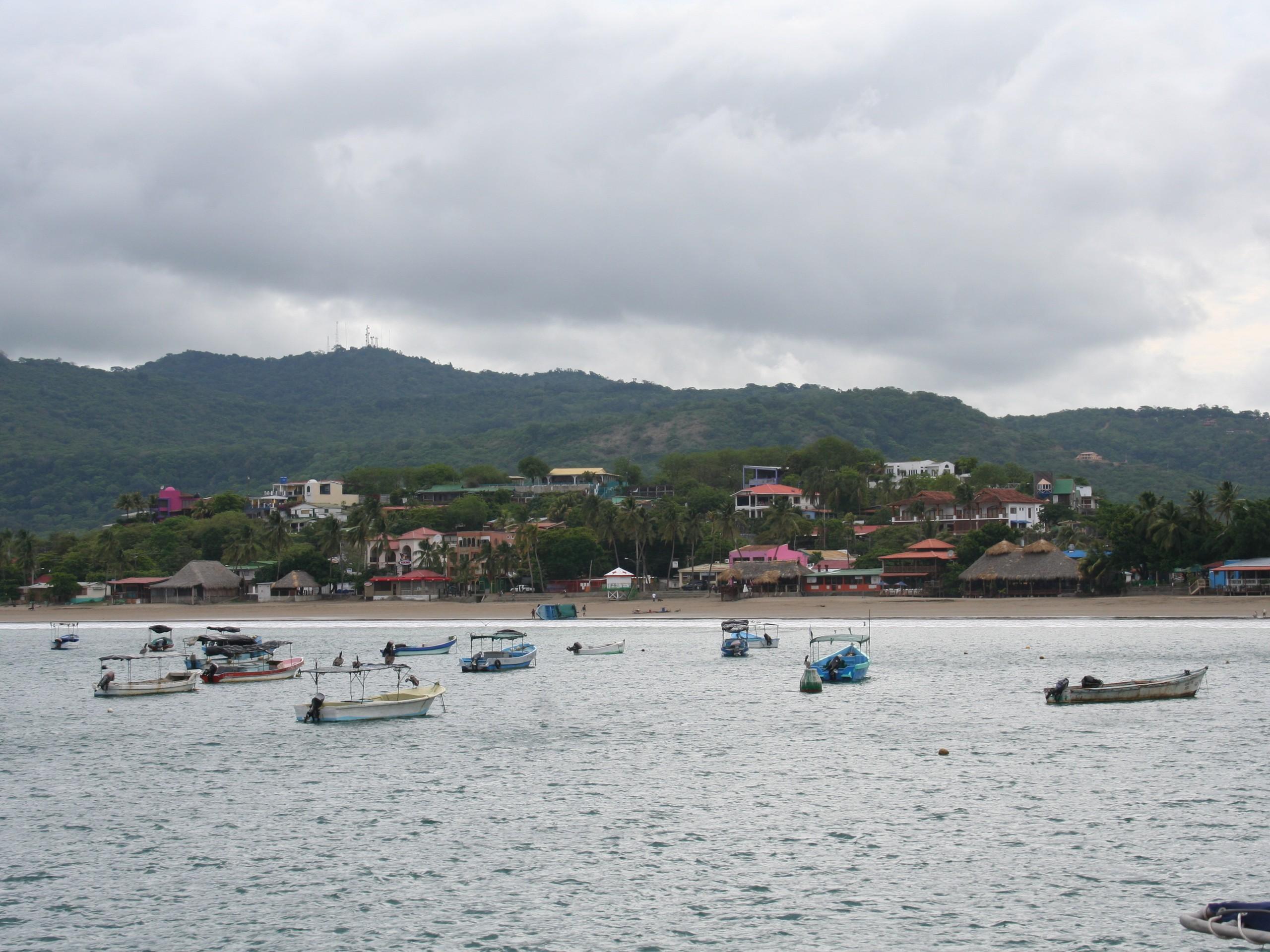 Coastline of Nicaragua