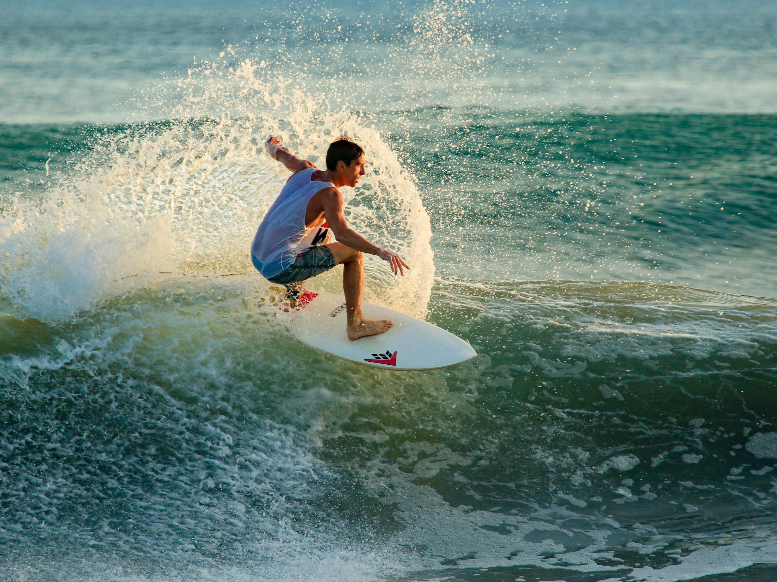 Surboarder in Nicaragua