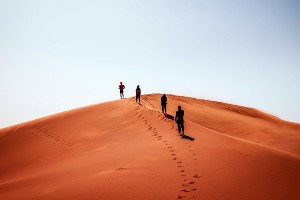 Desert Hiking in the Draa Valley