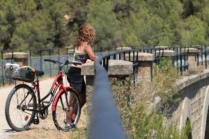 Cycling the Via Verde of Catalonia