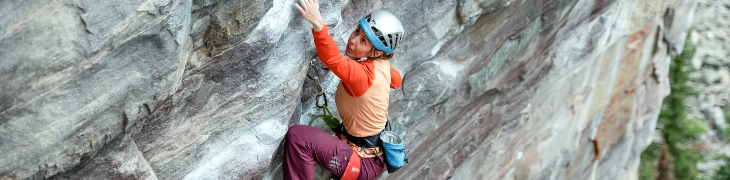Outdoor Rock Climbing Level 2 in the Canadian Rockies