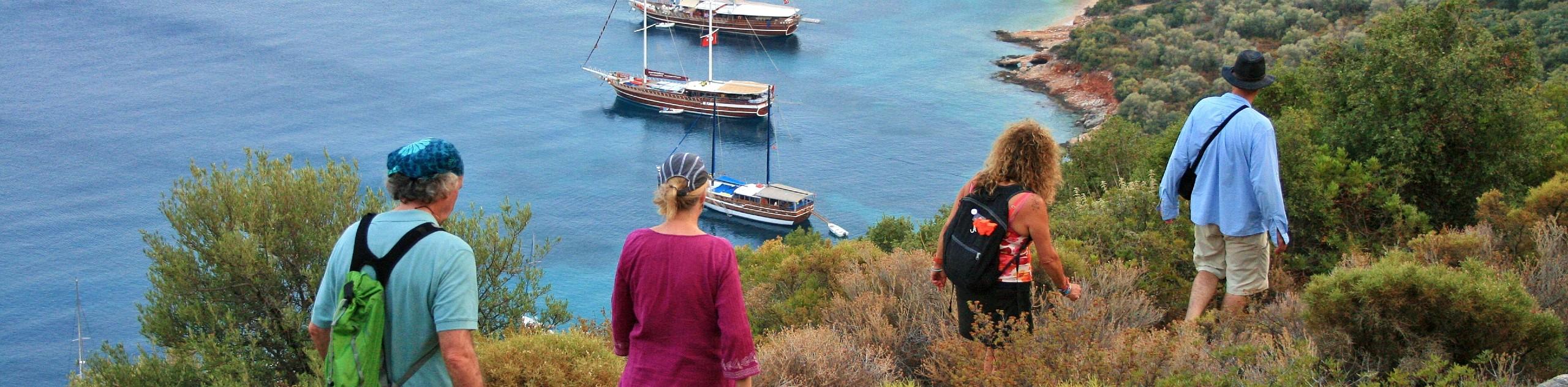 Turkey's Turquoise Coast Hiking and Sailing