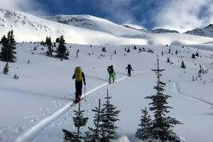 Avalanche Skills Training 1 in the Canadian Rockies