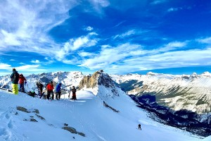 Avalanche Skills Training 2 in the Canadian Rockies